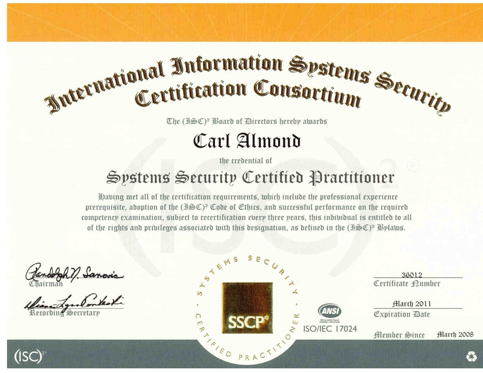 Resume of carl h almond jr ticsa iam mcse mcpi mcp cna ccnp ccna ccdp ccda ccsa security network and i net 1betcityfo Choice Image