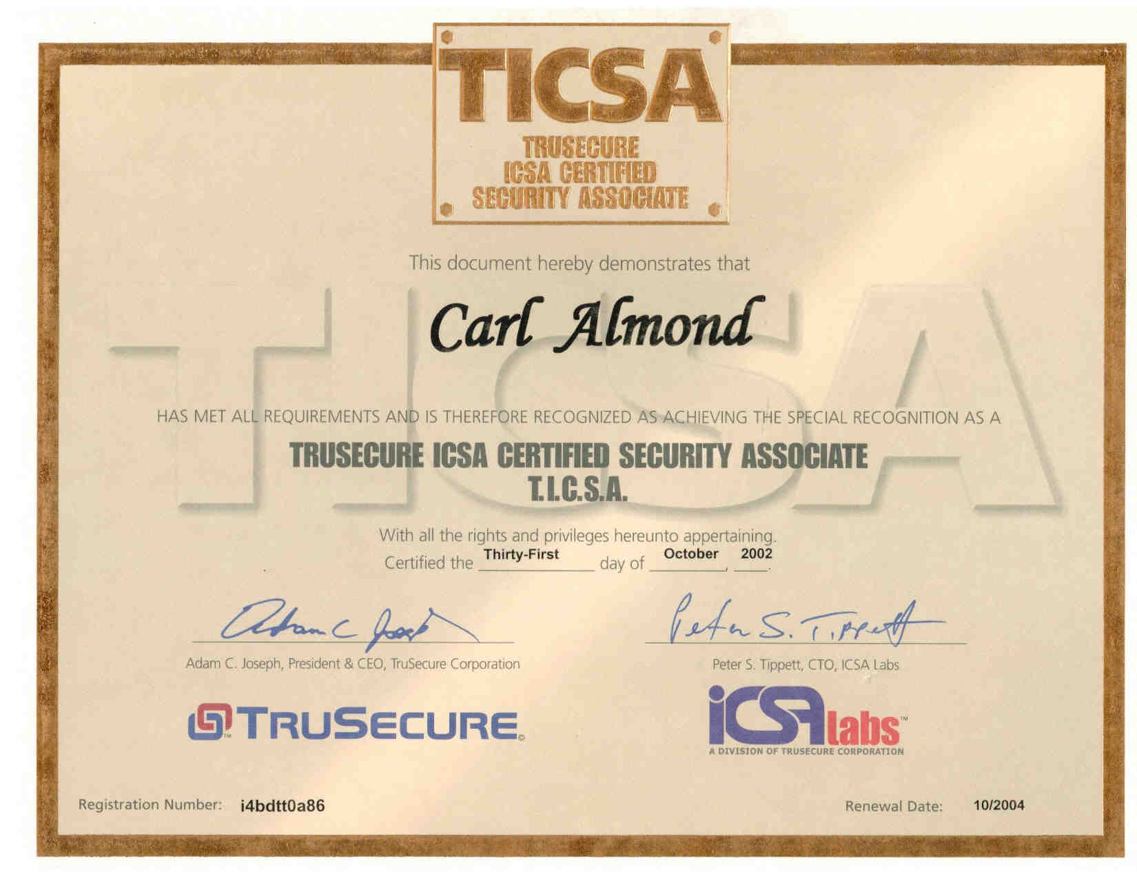 Resume of carl h almond jr mcse mcpi mcp cna ccnp ccna ccdp ccda ccsa security network and i net xflitez Image collections